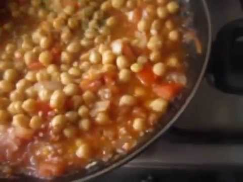 Garbanzos con arroz paso a paso f cil de hacer youtube - Potaje garbanzos con arroz ...