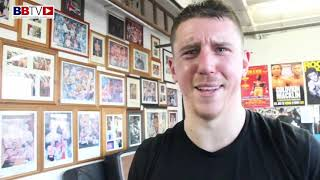 BEN SHEEDY: LEAVING CHAMPS CAMP,  SPARRING ROCKY FIELDING AND MARK HEFFRON
