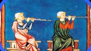 Игра на блок-флейте.