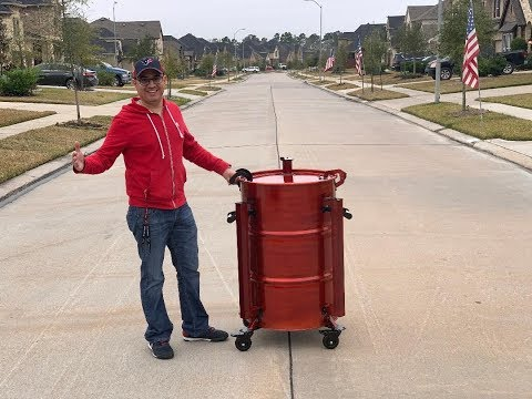 Competition Ugly Drum Smoker for Jose Guerrero