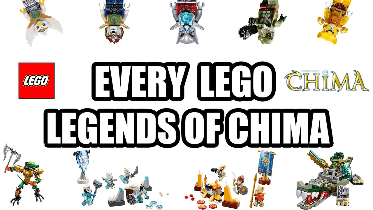 EVERY LEGENDS OF CHIMA SETS (LEGO CHIMA HISTORY)