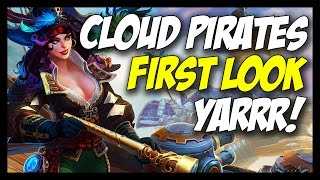 ► Ships, Pirates, Explosions... - Cloud Pirates Gameplay
