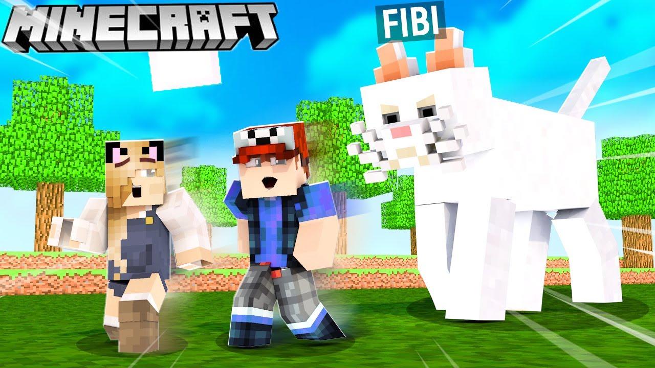 UCIEKAMY PRZED NASZYM SZALONYM KOTEM w Minecraft! | Vito i Bella