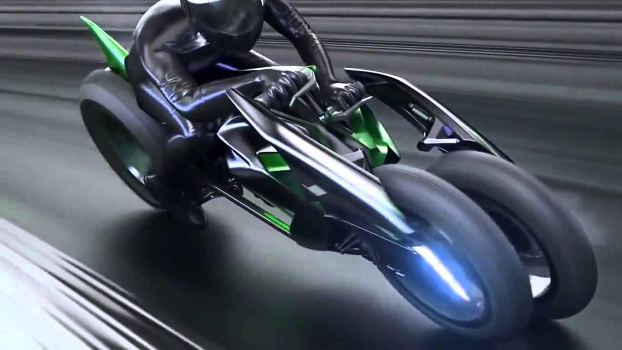 Kawasaki J Concept Electric Motorcycle 2013 Tokyo