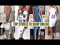 Top 10 Places to Shop For Clothes Online | How To Look Expensive & Bougie On a Budget 2018