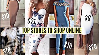 Top Stores to Shop For Clothes Online | How To Look Expensive & Boughie On a Budget 2018!