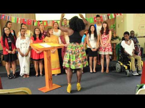 Mt Gravatt SDA Youth Choir|| Khumbaya {International Day}