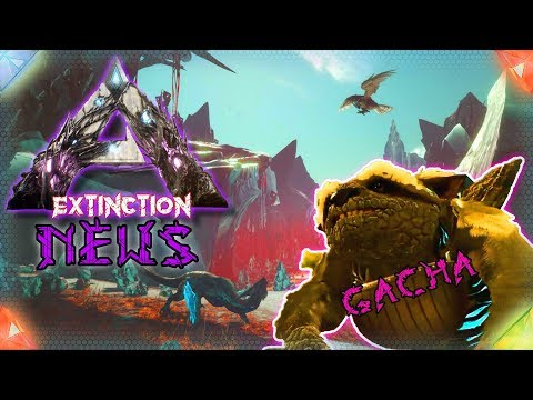 ARK News 🇩🇪 Gacha Extinction Teaser + Neues Dino Bildmaterial Deutsch