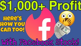 How I Made $1,000+ Profit With Facebook Shop Stock Investment Facebook Instagram Shop News!