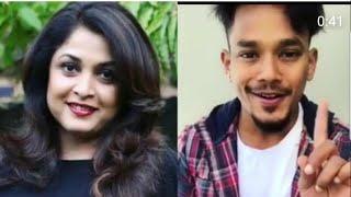 Mehaboob Dilse Dubsmash With Actor RamyaKrishna(Sivagamini)