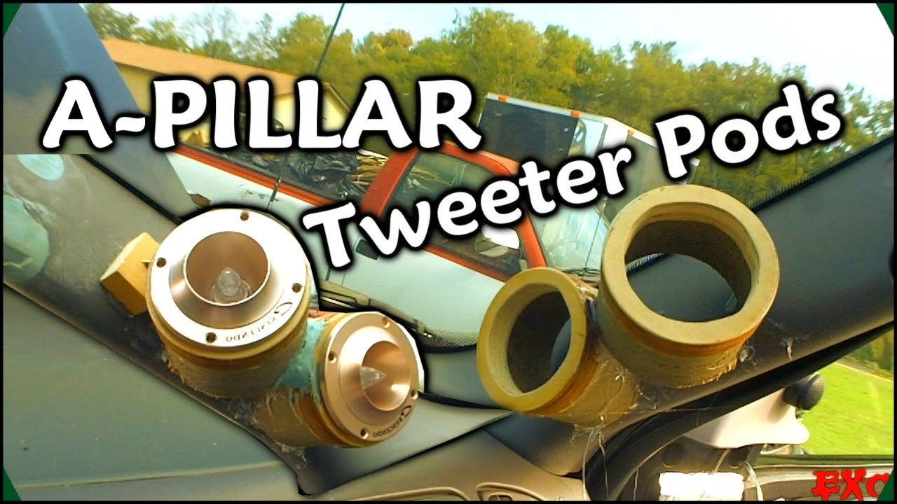 Making Fiberglass Tweeter Pods Custom Car Audio A