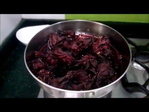 mermelada flor de jamaica receta
