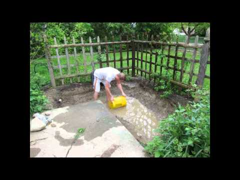 Make A Pond In The Backyard - For Fish And Plants