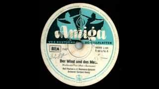 Amiga 1 50 636  Der Wind und das Meer - Ralf Paulsen, Das Hemmann-Quintett