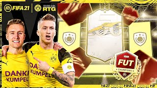 INSANE ICON PACK (AGAIN!) + NEXT GEN REWARDS! | FIFA 21 REUS TO GLORY #18
