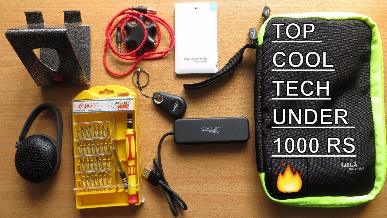 Top 10 Cool Tech Under 1000 Rus On Must Have Gadgets Part 3