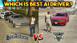 GTA 5 AI DRIVERS VS GTA SAN ANDREAS AI DRIVERS : WHICH IS BEST?