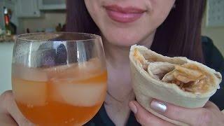 ASMR: Taco Bell Beefy 5-layer Burrito | Quesadilla | Eating Sounds