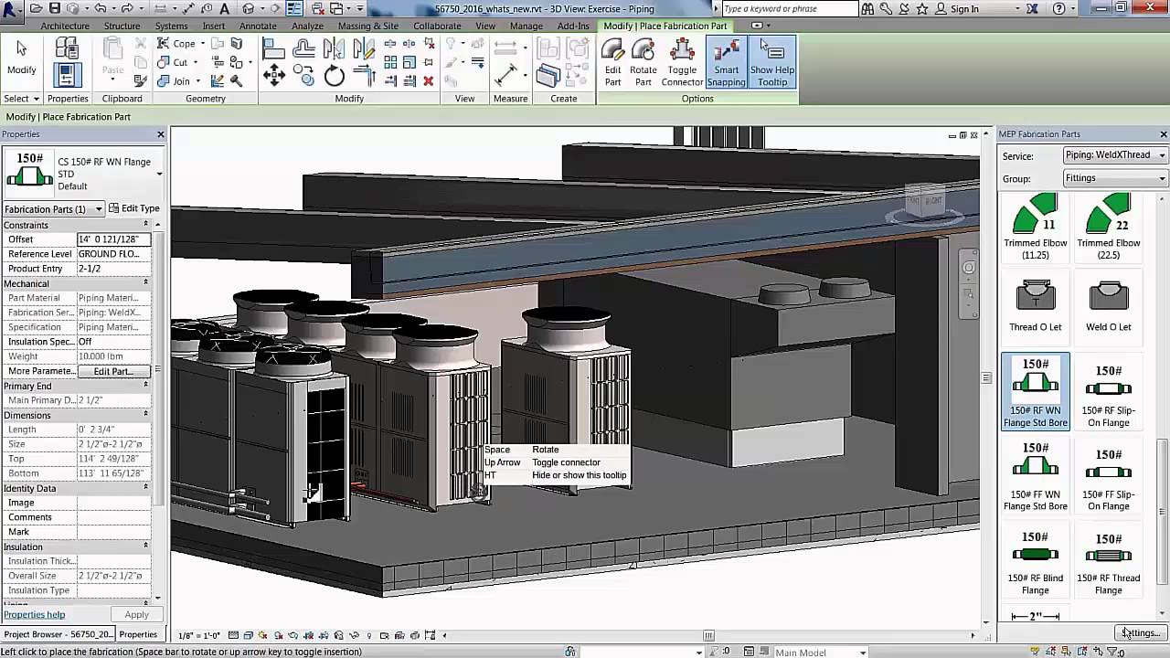 Revit Mep 2016 Pipe Layout For Fabrication Youtube Piping And Design