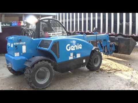 Genie GTH5519 w/ Skid Steer Attachment