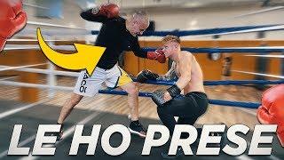 SPARRING ANDATO MALE | 2° allenamento di pugilato