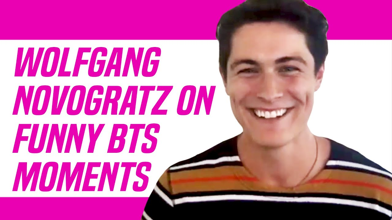 Feel the Beat Netflix Star Wolfgang Novogratz Talks Funny Moments With Sofia Carson