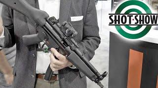 SHOT SHOW 2020   HK SP5 (Civilian MP5)