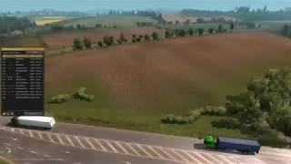 Euro Truck Simulator 2 MP - Timelapse: Public convoy 20.5.18