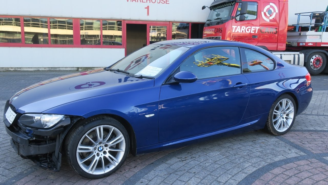 750418 bmw 325i e92 coupe m sport 2 5l 6 cyl 218hp 06 07 blue 99930mil rhd youtube. Black Bedroom Furniture Sets. Home Design Ideas