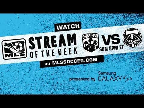 FREE LIVE Stream Of The Week: Columbus Crew Vs Portland Timbers Promo