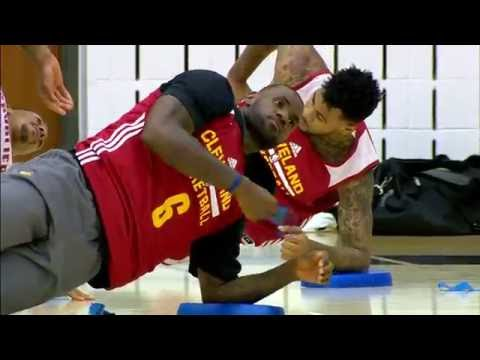 LeBron James Highlights at Cavaliers 2017 Training Camp