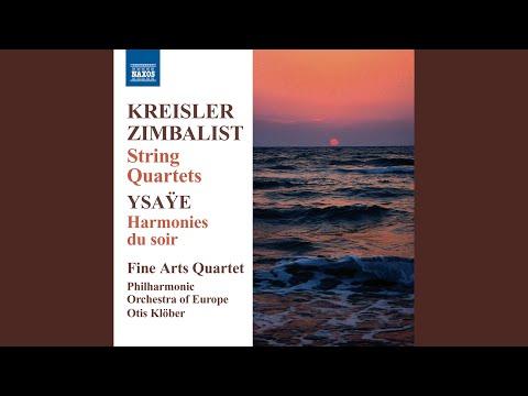 String Quartet in E Minor: I. Moderato