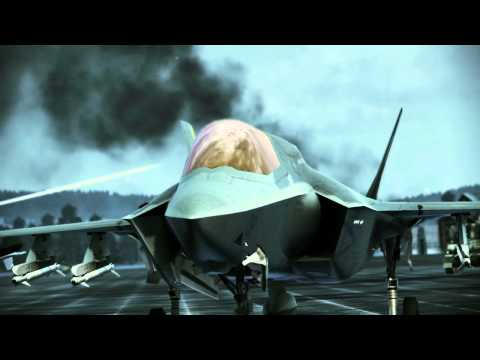 Ace Combat Assault Horizon :: (Mission 9) Siege :: (HD) :: Difficulty Ace