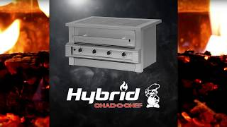 Chad-O-Chef | Hybrid Braai | Braai with Gas, Charcoal, Wood OR Smoker Chips