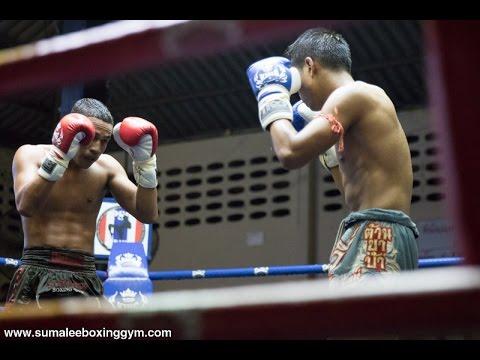Super Bank Sumalee fights at Patong Boxing Stadium, 15th September 2016