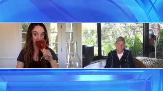 Ellen & Her Writer Lauren Play a Drinking Game