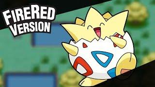 Pokémon Fire Red - Como  Obter o Togepi (Legendado Em Português) No Commentary
