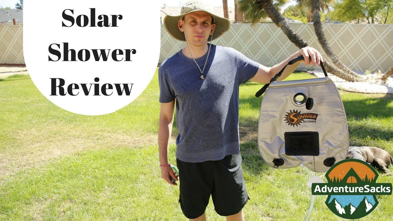 84a25f16f3f Advanced Elements 5 Gallon Summer Shower/Solar Shower Review