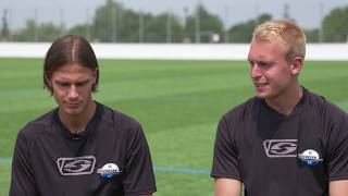 Im Portrait bei SCP07-TV: Tobias Schwede und Julius Düker