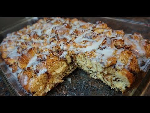 Pillsbury Cinnamon Roll French Toast Casserole