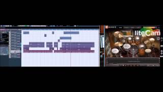 Chris Reggae Keyboard - Ezdrummer 2 Reggae part 2