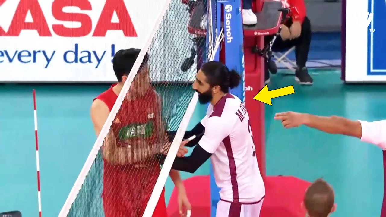 The Most Risky & Dangerous Match in Volleyball History (HD)