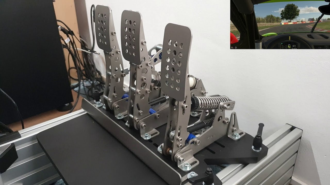 Heusinkveld Sim Pedals Ultimate in action !