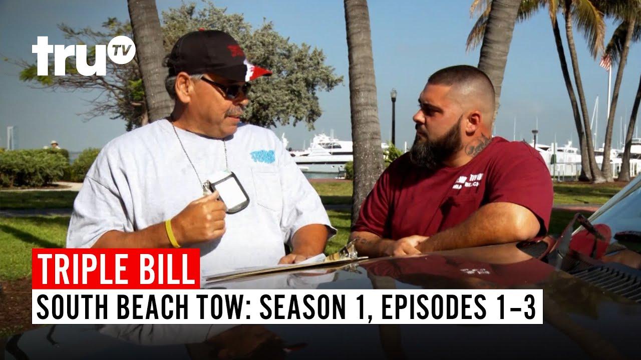 Download South Beach Tow | FULL EPISODE TRIPLE BILL: Season 1, Episodes 1, 2 & 3 | truTV