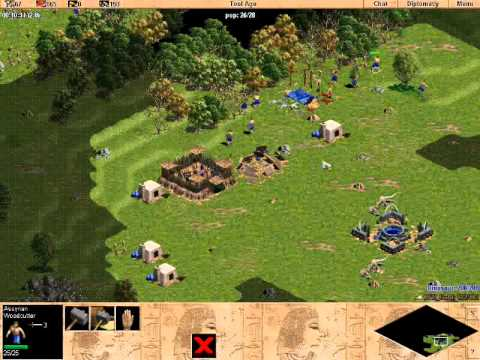 RFR_Gold vs Dinosaur 2: Age of Empires Rise of Rome Gameplay Multiplayer Video