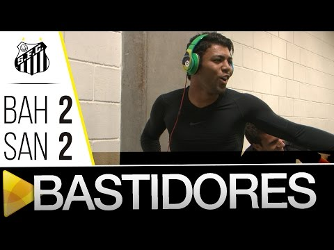 Bahia 2 x 2 Santos | BASTIDORES | Amistoso (23/01/16)