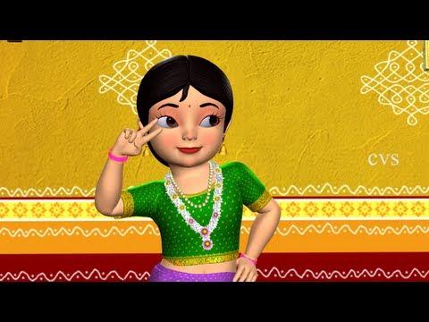 Gandham Medakupusukuni - 3D Animation Telugu Nursery rhyme for children with lyrics