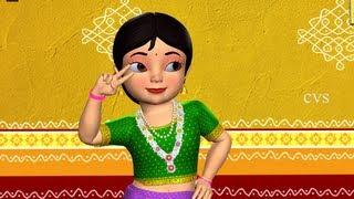 Gandham Medaku  pusukuni - 3D Animation Telugu Nursery rhyme for children with lyrics