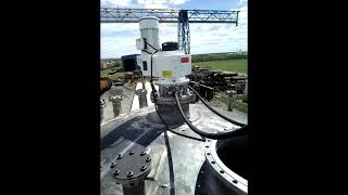Испытания мешалки VISCO JET 500 на воде