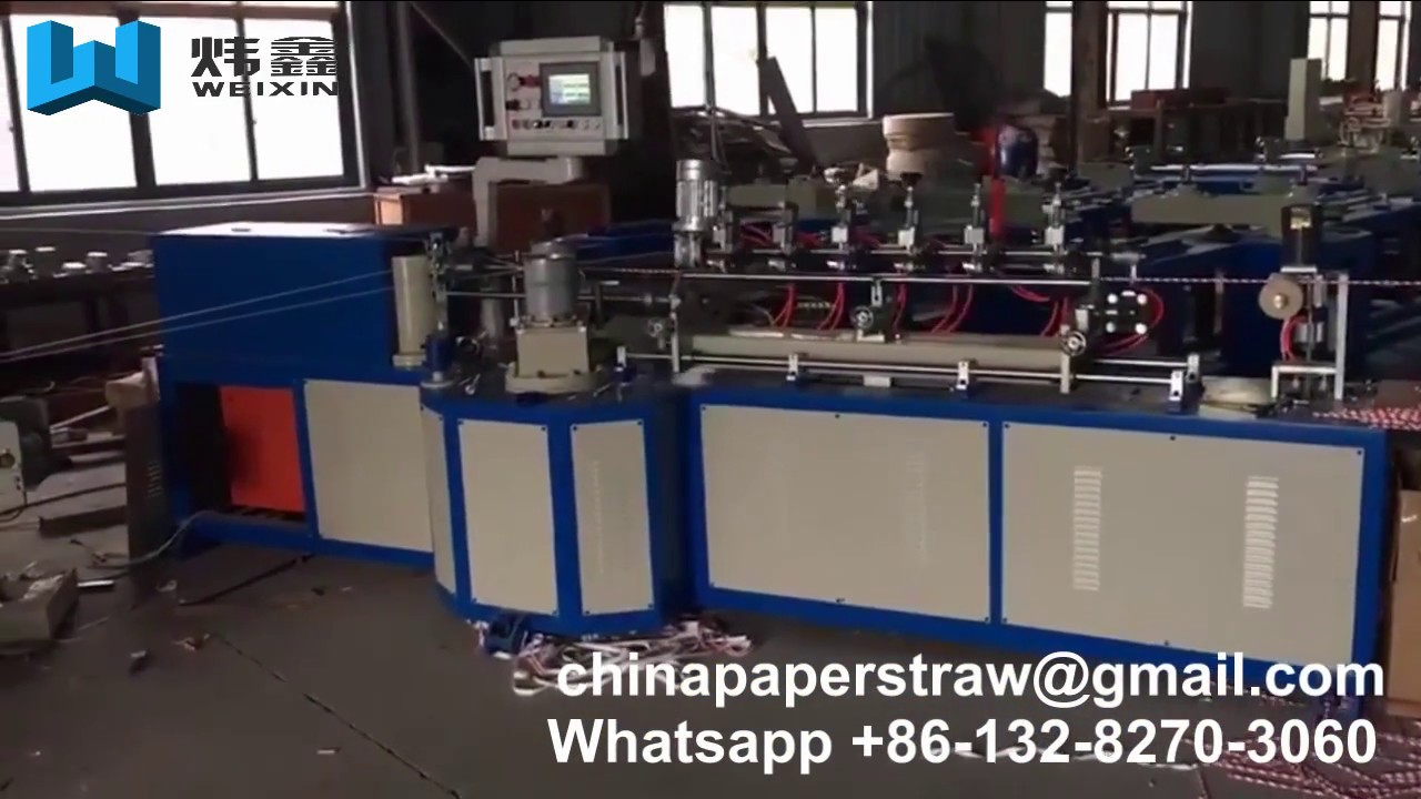 Paper straw making machine price in india
